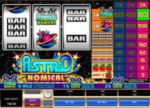 Asrtonomical Slot Machine